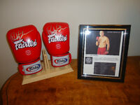 Fairfax Boxing Gloves signed