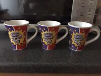 Creme Egg coffee mugs