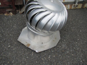 Whirly Bird Roof Vents---4 units