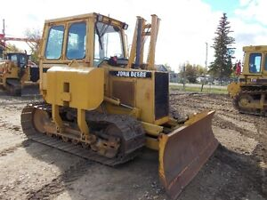 Must Sell1997 DEERE 650G LGP Crawler 6way Blade /winch /Sideboom