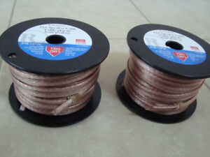 Brand New Radio Shack Flat Speaker Cable 2 x 50 ft.