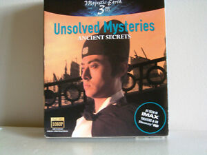 Unsolved Mysteries Ancient Secrets blu-ray