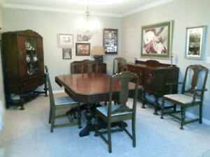 Dark Walnut Dining Room set