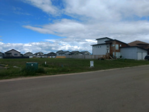 52' wide lot in quiet cul-de-sac in Sexsmith