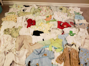 Over 50 pieces of gender neutral 0-3 months