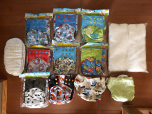 Brand New Cloth Diaper set with liners