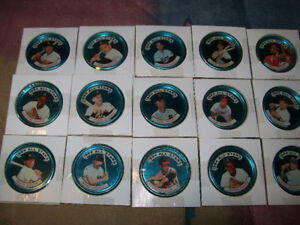 1964 Topps All Star Baseball Coins