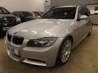 BMW 3 SERIES 320D EDITION M SPORT TOURING, Silver, Manual, Diesel, 2008