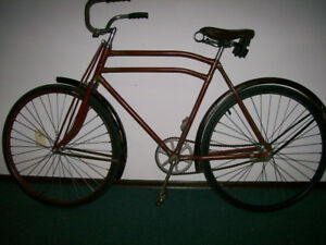Vintage 1930's Star bicycle, restored , ready to ride