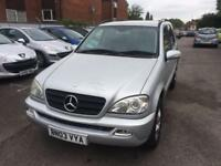 Mercedes-Benz ML270 2.7TD auto CDI 7 Seater - Low Mileage