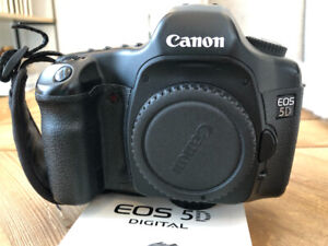 CANON 5D CAMERA WITH SPEEDLITES (sold separate)
