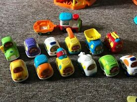 Large collection of Toot Toot Toys