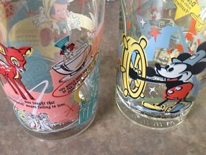 Walt Disney collectable glasses 100 anniversary Gatineau Ottawa / Gatineau Area image 1