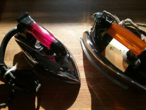 IRONING IRONS - 4 Ultra Cool Vintage Electric Irons!