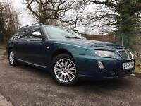 2004/54 Rover 75 Tourer 2.5 V6 Connoisseur SE Estate, FSH, MOT 04/18