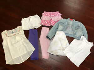 Girls summer clothing Size 5/6 years