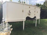 Shabby chic French style sideboard