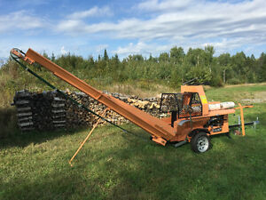 This Firewood Processor will save your back!