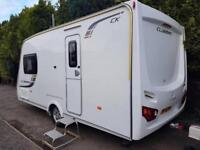2013 Lunar Clubman CK 2 berth caravan MOTOR MOVER, AWNING LIGHT TO TOW BARGAIN !