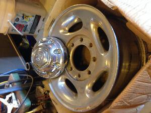 """Aluminum Dodge 8 Bolt 16"""" Factory Rims"""