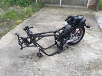 GPZ600R Frame and parts