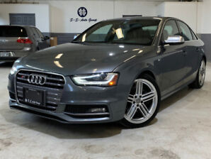 2013 AUDI S4 NAV|ACCIDENT FREE|BCK UP|DRIVE SELECT|BLND SPT