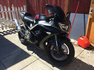 2000 Honda CBR 929RR Fireblade (TRADE FOR SPORT TOURNING BIKE)