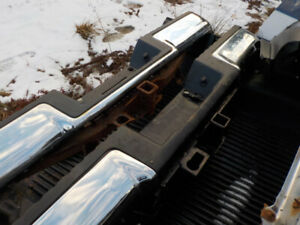 2- F-150 Chrome rear bumpers 04 to 08 and 09-2014