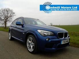 2011/61 BMW X1 2.0 20D M SPORT XDRIVE 5DR 4X4 BLUE - SPACIOUS AND PRACTICAL
