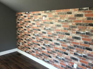 Wall Paper Installations
