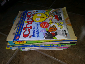Chirp and other kid magazines