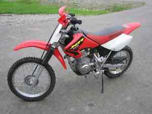 Wanted XR80-100 or CRF80-100