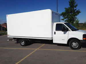 2015 Chevy Express 4500 16ft cube van**LEASE TAKEOVER $474/MO