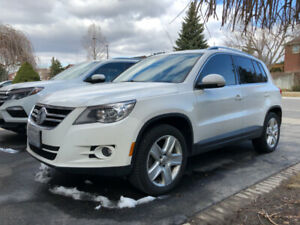 2011 WV Tiguan very high spec !