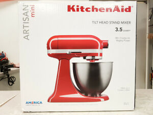 KitchenAid Artisan Mini 3.5qt Stand Mixer - NEW