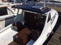Myraplast 21 Fishing Boat, River boat, Diesel shaft drive superb