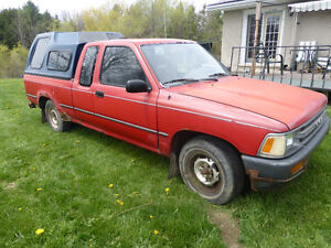 1989 Toyota Other Pickups red Pickup Truck