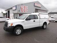 2010 Ford F-150 XL 4X4 Pickup Truck WITH A.R.E. CAP