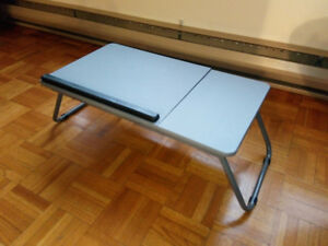 Table de lit pliable pour PC portable/notebook