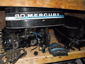 Mercury 80hp 4 cyl. 1983 Parts Gatineau Ottawa / Gatineau Area image 1