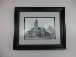 Framed Picture Charlottetown City Hall