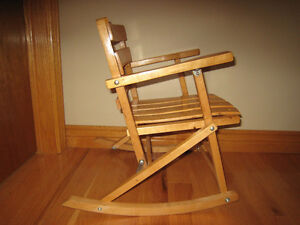 Rocking Toddler Chair