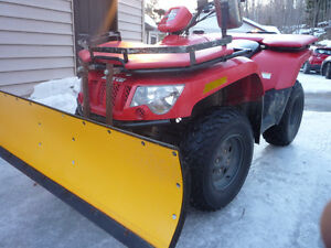 2006 Arctic Cat ATV! Plow included!!