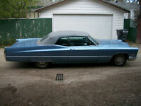 1967 Cadillac deville convertible 2 door