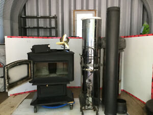 Wood Stove with the Works