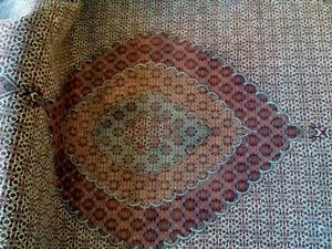 Persian Tabriz Mahi (Fish) Silk and wool Rug