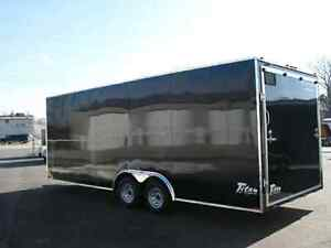 New stealth enclosed trailers 8.5 wide All lengths