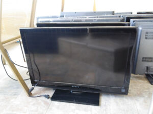 32, 32in dynex HDMI tvs with remotes.