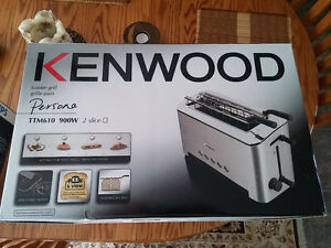NEW in Box Kenwood Persona Collection Toaster 50% off