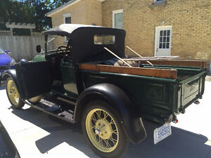 1929 Ford Model A Pickup - Newly Repaired but All Original